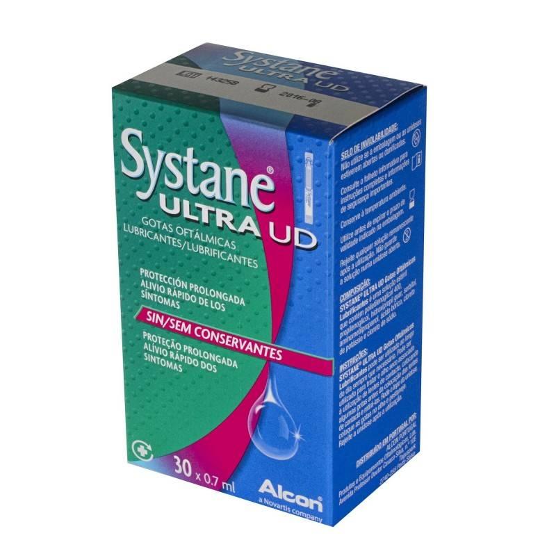SYSTANE ULTRA UD 30 UNIDOSIS DE 07 ML 165715 Hidratación e Higiene