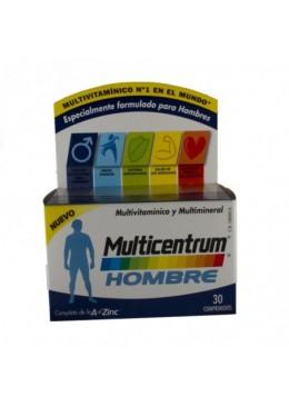 MULTICENTRUM HOMBRE 30 COMP 166000 Vitaminas - Minerales