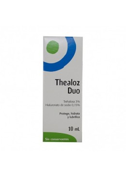 THEALOZ DUO 10 ML 166701 Hidratación e Higiene