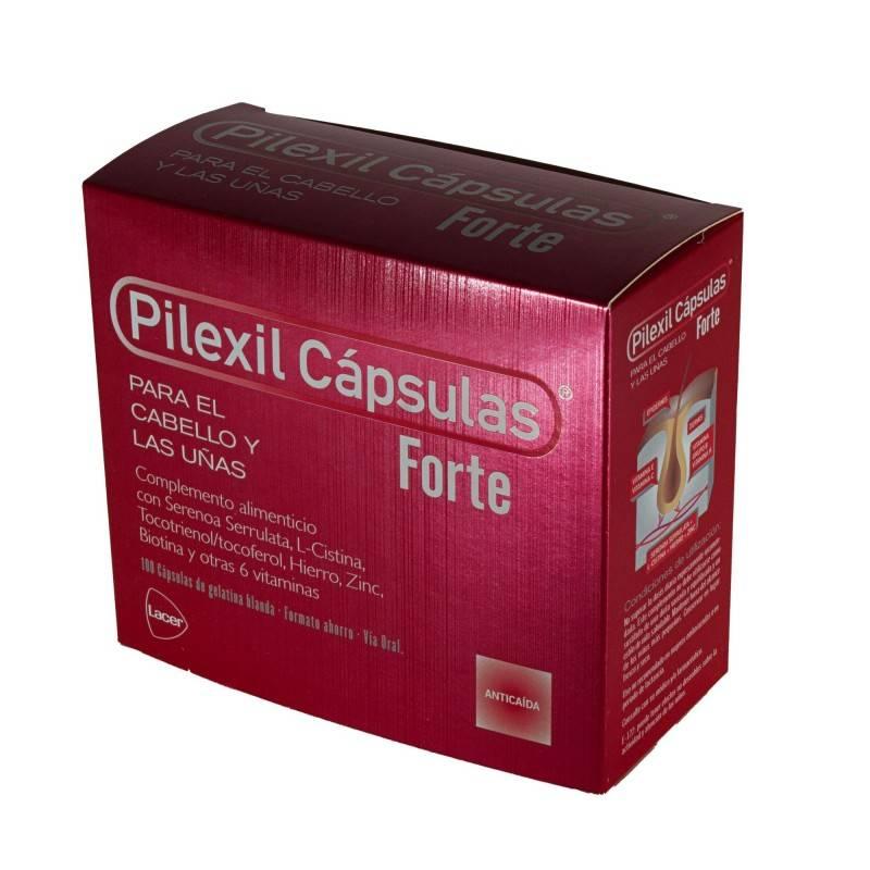 PILEXIL FORTE 100 CAPSULAS 166904 Piel - Cabello- Uñas