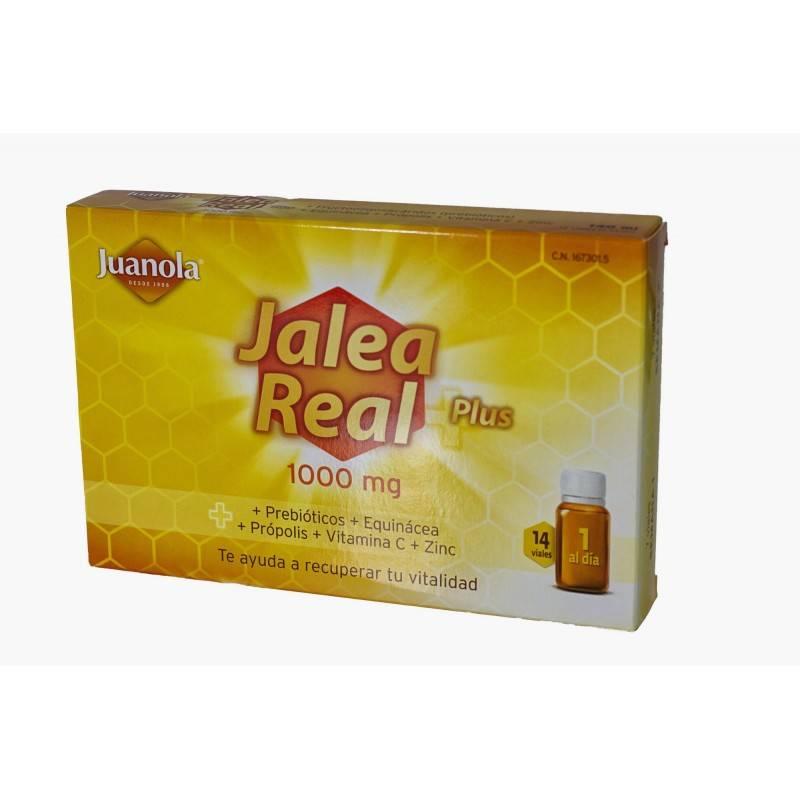 JUANOLA JALEA REAL PLUS 14 VIALES 167301 Defensas - Resfriado
