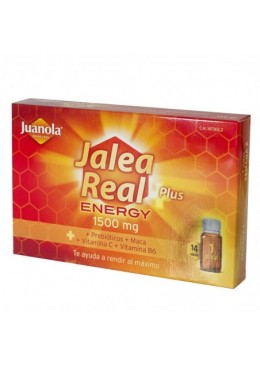 JUANOLA JALEA REAL ENERGY PLUS 14 VIALES 167302 Defensas - Resfriado
