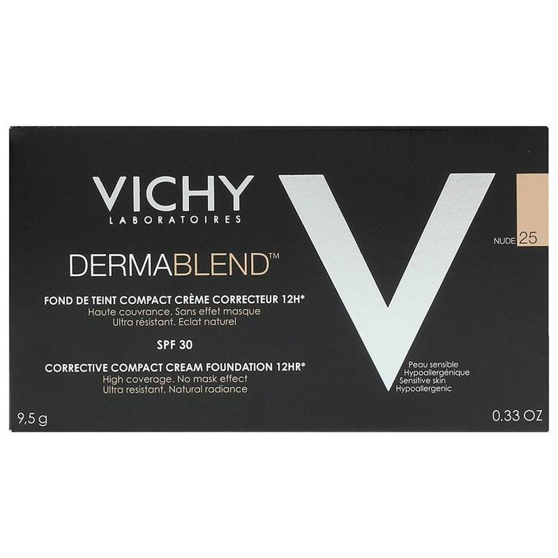 VICHY DERMABLEND MAQUILLAJE COMPACTO Nº 25 168271 Maquillaje