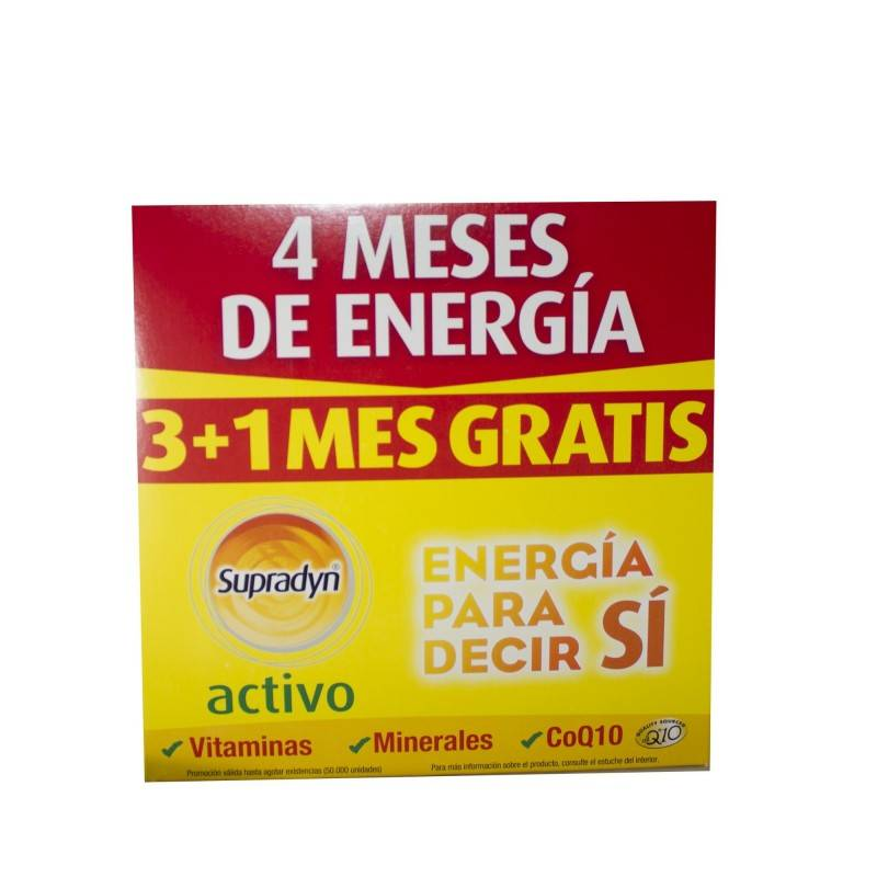 SUPRADYN ACTIVO 90 + 30 COMP 169016 Vitaminas - Minerales