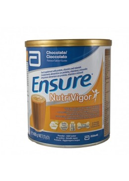 ENSURE NUTRIVIGOR 400 G LATA CHOCOLATE 170284 Dieta adultos especiales