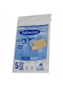 SALVELOX MED AQUA COVER 76 MM X 54 MM 5 APOSITOS 170849 Cortes-Heridas-Quemaduras