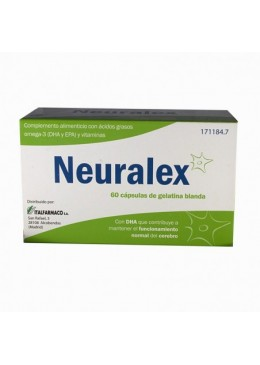 NEURALEX CAPS DE GELATINA BLANDA 60 CAPS 171184 Colesterol- Ácidos grasos