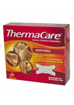 THERMACARE ADAPTABLE 3 PARCHES 171342 Dolor- Fiebre- Contusiones