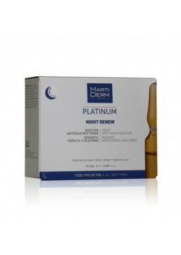 MARTIDERM NIGHT RENEW AMPOLLAS 10 AMPOLLAS 171531 Exfoliantes - Peelings - Mascarillas