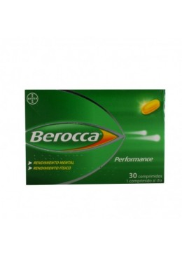 BEROCCA PERFORMANCE 30 COMP 171681 Vitaminas - Minerales