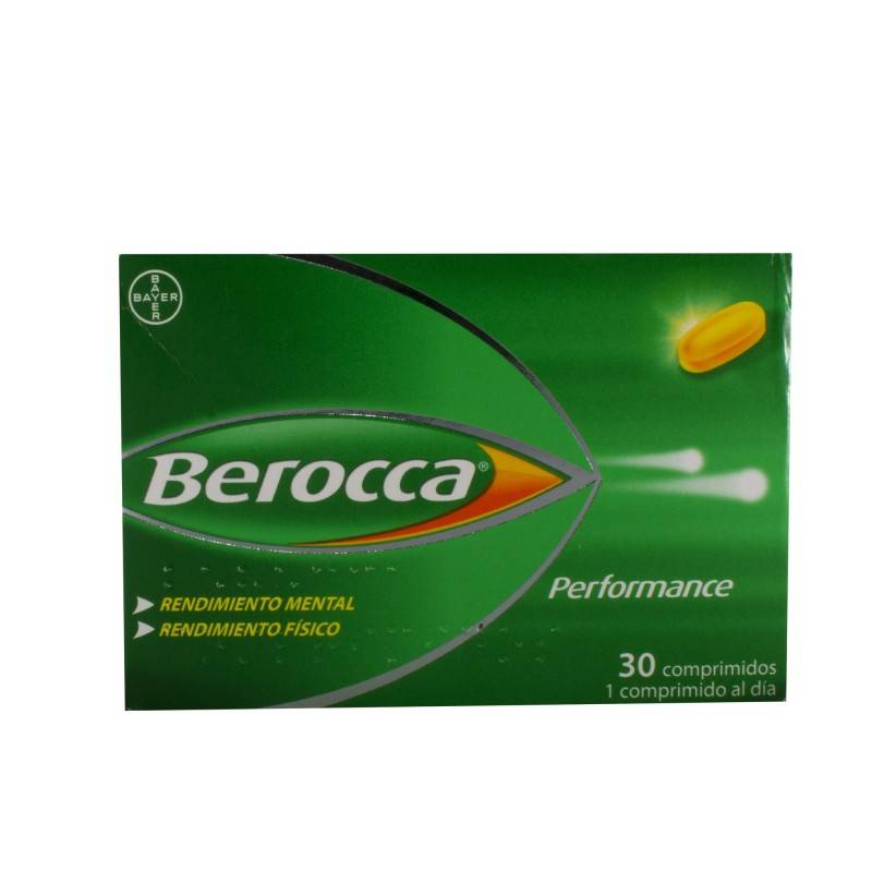BEROCCA PERFORMANCE 30 COMP 171681 Vitaminas - Minerales