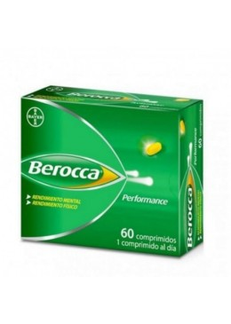 BEROCCA PERFORMANCE 60 COMP 171682 Vitaminas - Minerales