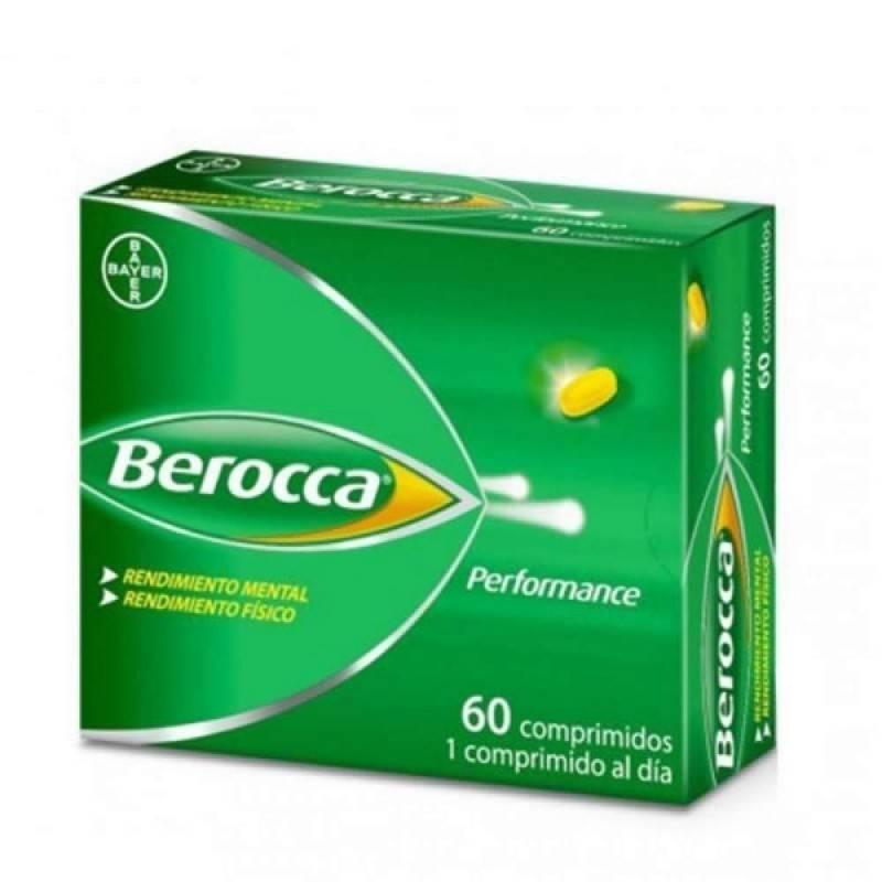 BEROCCA PERFORMANCE 60 COMP 171682 Vitaminas - Minerales
