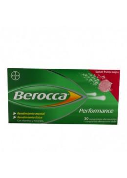 BEROCCA PERFORMANCE FRUTOS ROJOS 30 COMP EFERV 171721 Vitaminas - Minerales