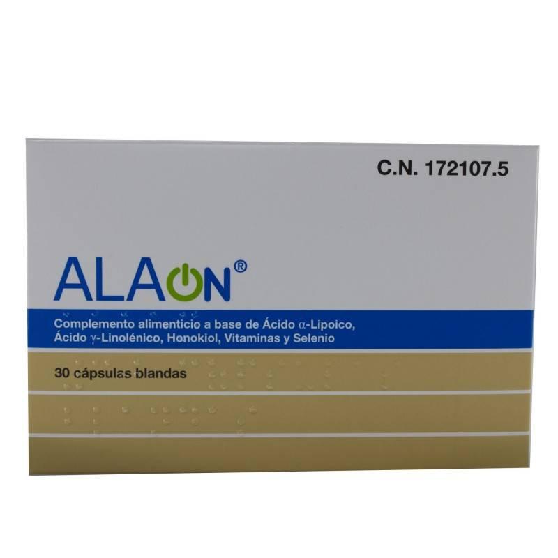 ALAON 30 CAPSULAS BLANDAS 172107 Antioxidantes Naturales