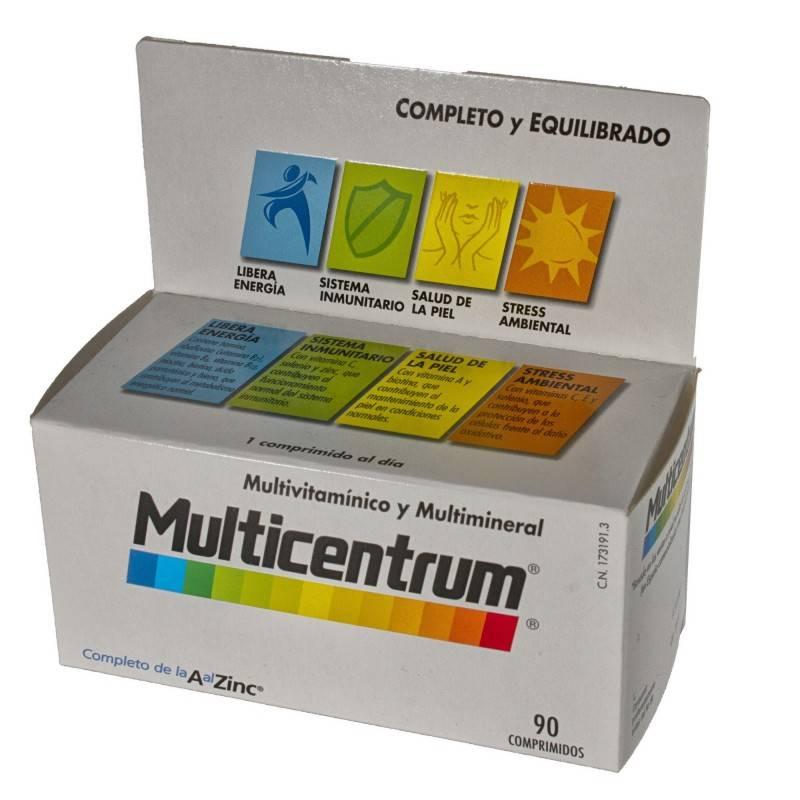 MULTICENTRUM 90 COMP 173191 Vitaminas - Minerales