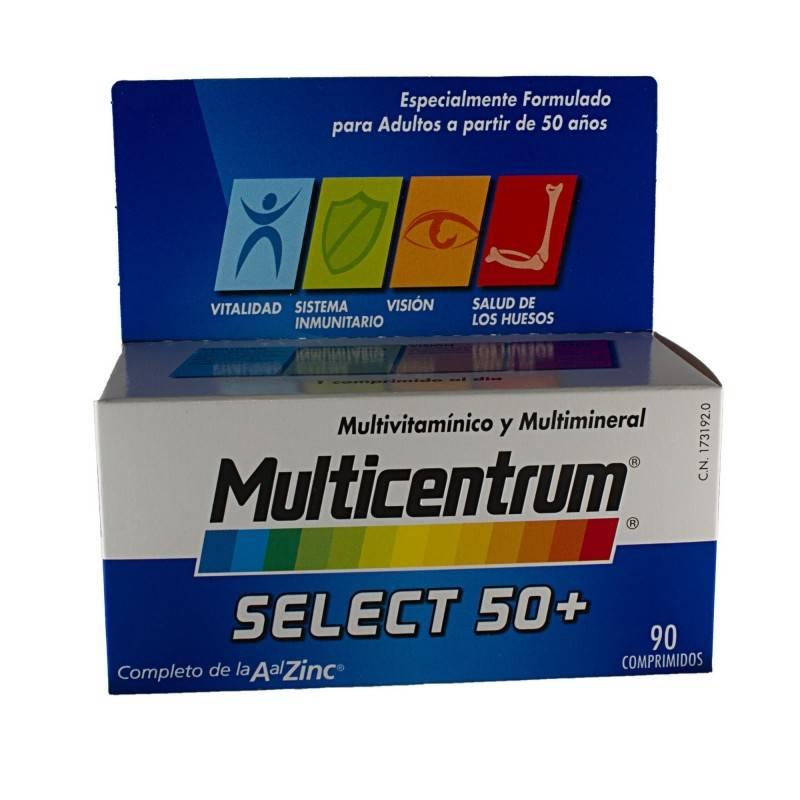 MULTICENTRUM SELECT 50+ 90 COMP 173192 Vitaminas - Minerales