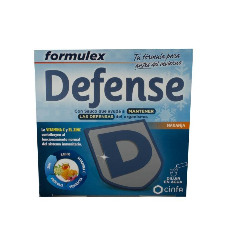 FORMULEX DEFENSE 14 SOBRES 174642 Defensas - Resfriado