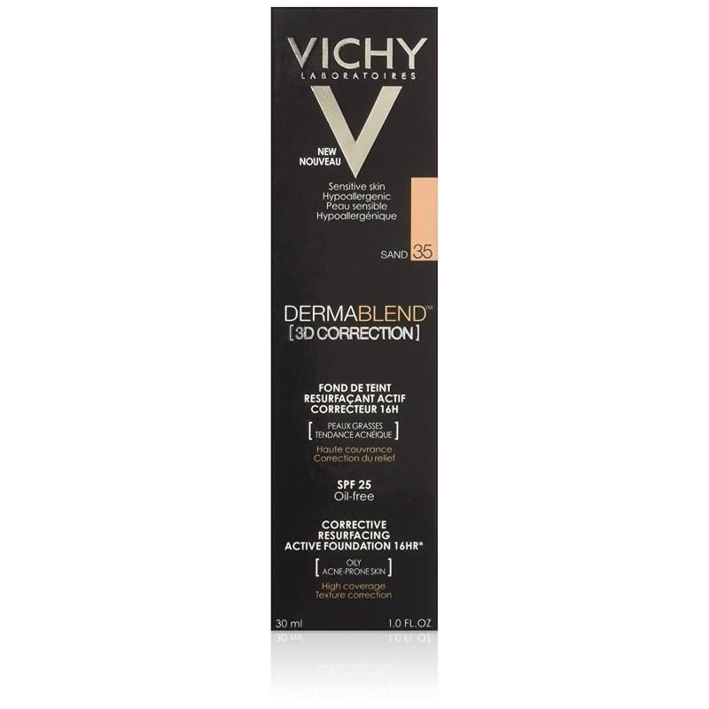 VICHY DERMABLEND 3D SPF 15 OIL FREE TONO 35 176025 Maquillaje