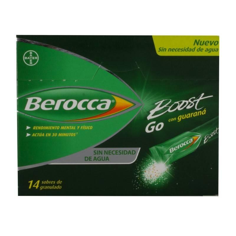 BEROCCA BOOST GO GRANULADO 14 SOBRES 177057 Vitaminas - Minerales