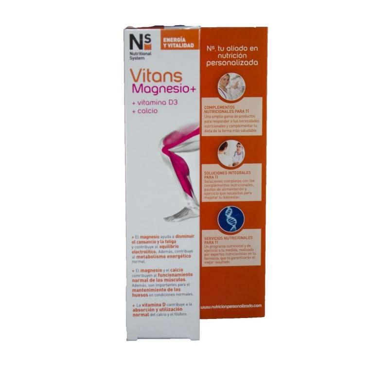 NS VITANS MAGNESIO+ 15 COMP EFERVESCENTES 177654 Vitaminas - Minerales