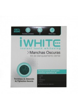 IWHITE KIT MANCHAS OSCURAS 10 MOLDES 183722 Tratamientos bucales