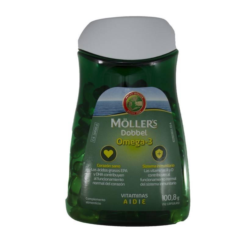 MOLLERS DOBBEL 112 CAPS 184565 DIETÉTICA- DEPORTE