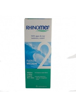 RHINOMER FUERZA-2 135 ML 196378 Higiene auditiva y nasal