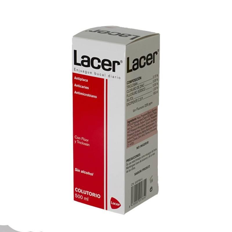 LACER COLUTORIO 500 ML 205765 Dentífricos - Enjuages