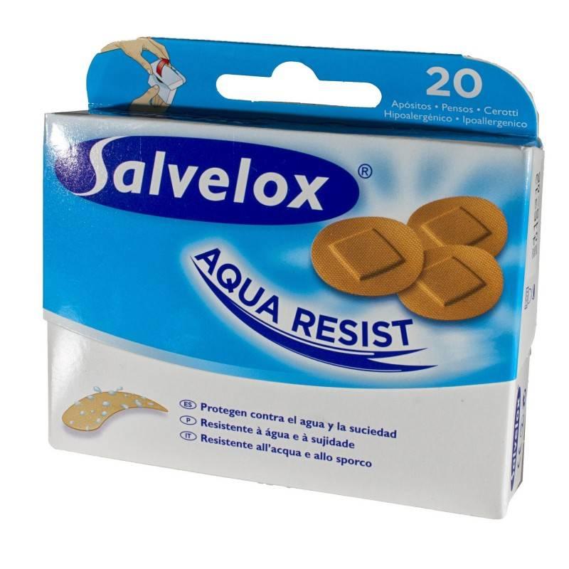 SALVELOX AQUA RESIST REDEDONDAS 20U 209182 Cortes-Heridas-Quemaduras