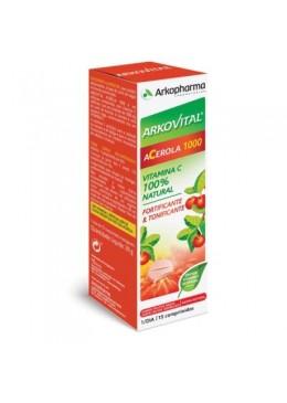 ARKOVITAL ACEROLA 1000 15 COMPRIMIDOS MASTICABLES 212841 Vitaminas - Minerales