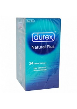 DUREX NATURAL PLUS 24 U 248716 Preservativos