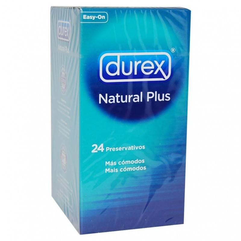 DUREX NATURAL PLUS 24 U 248716 Preservativos