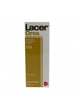 LACER OROS COLUTORIO 500 ML 260083 Dentífricos - Enjuages