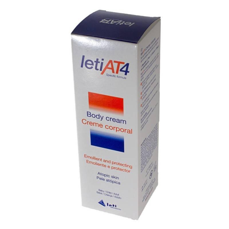 LETI AT-4 CREMA PIELES SECAS 200 ML 262279 Piel Atópica - Psoriasis