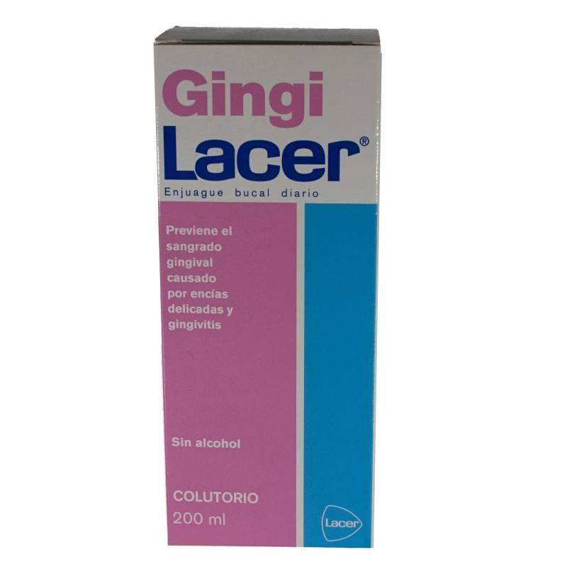 GINGILACER COLUTORIO 200 ML 263657 Dentífricos - Enjuages