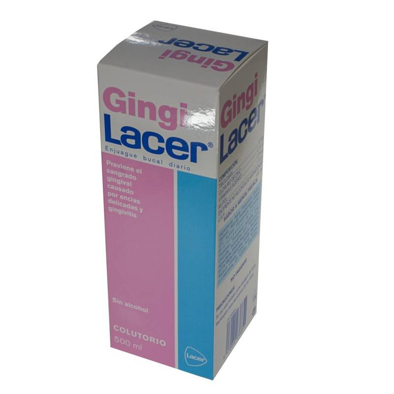 GINGILACER COLUTORIO 500 ML 263665 Dentífricos - Enjuages