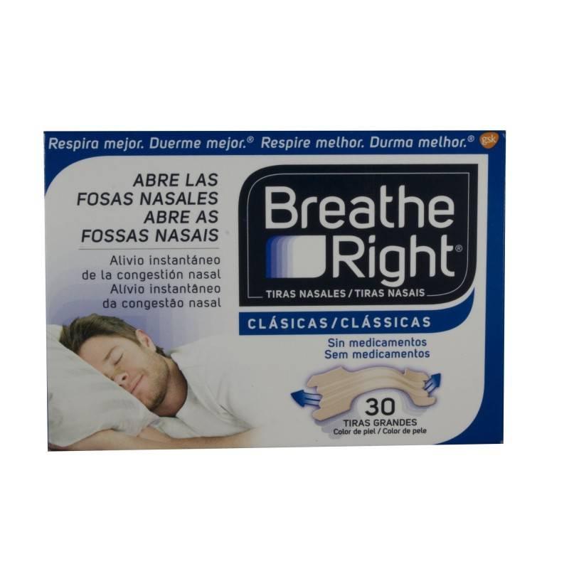 BREATHE RIGHT MEDIO/GRANDE 30 UNIDADES 300319 Efectos-Material