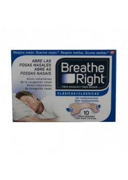 BREATHE RIGHT TIRA ADH NASAL T- GDE 10 U 306241 Efectos-Material