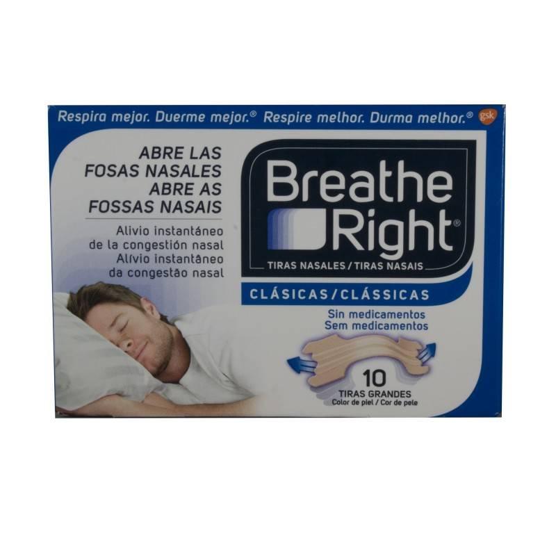 BREATHE RIGHT TIRA ADH NASAL T- GDE 10 U 306241 Efectos-Material