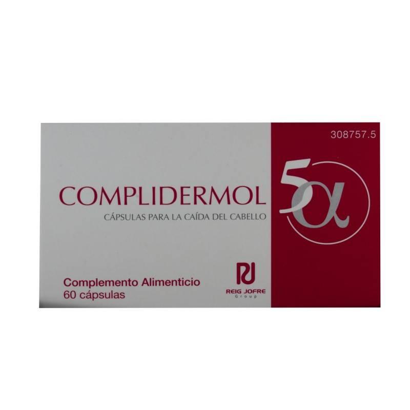 COMPLIDERMOL 5 ALFA 60 CAPSULAS 308757 Piel - Cabello- Uñas